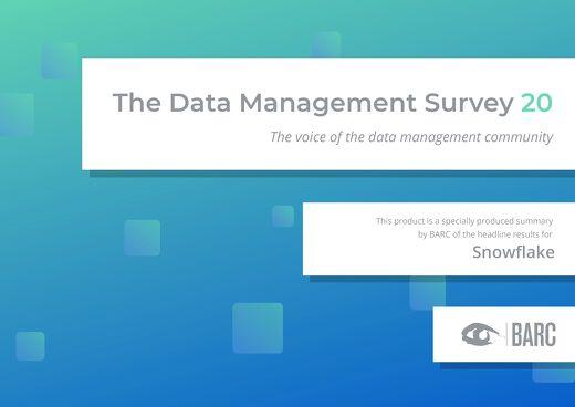 BARC: The Data Management Survey 2020