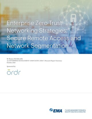 EMA Zero Trust Networking Research Summary