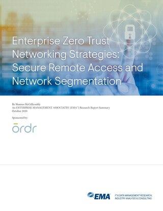 EMA Zero Trust Networking Research Summary