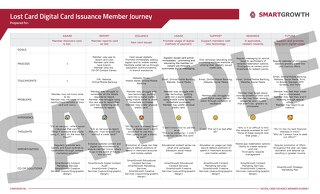 DCI Sample Lost Card Member Journey Map