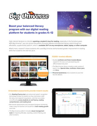 Big Universe Digital Literacy