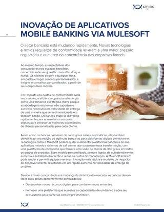 INOVAÇÃO DE APLICATIVOS BANKING MULESOFT