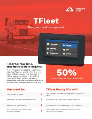 TFleet Ready Mix Fleet Management