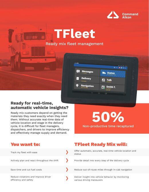 TFleet Ready Mix Fleet Management