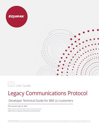 Developer Technical Guide: IBM LU