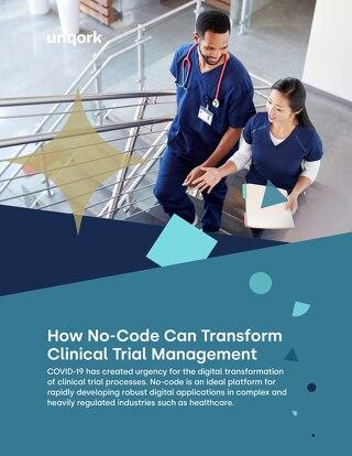 eBook: How No-Code Transforms Clinical Trial Management