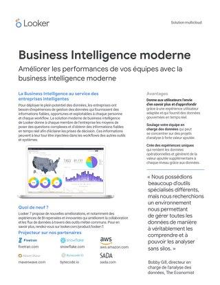 Business Intelligence moderne