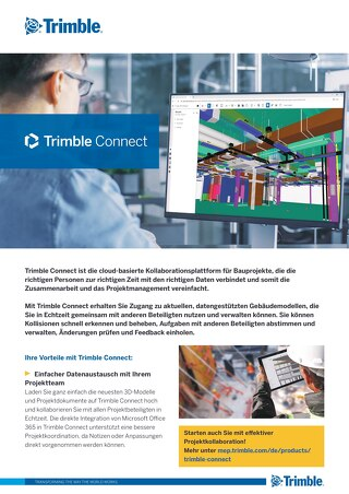 Trimble Connect Datasheet DE