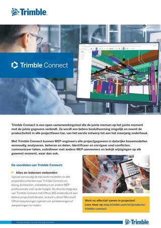 Trimble Connect Datasheet NL