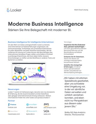 Moderne Business Intelligence