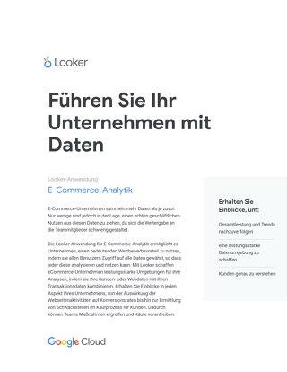 Führen Sie Ihr Unternehmen mit Daten