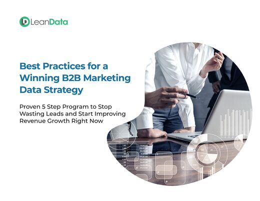 Best Practices for a  Winning B2B Marketing Data Strategy