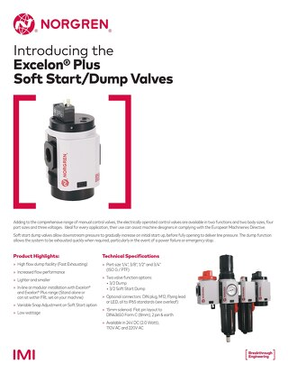 Soft Start/Dump Valves and Control Valves Flyer