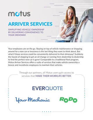 Motus Arriver Services One pager