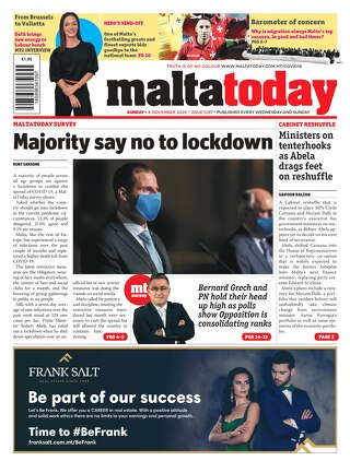 MALTATODAY 8 November 2020