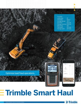 Trimble Smart Haul Brochure - English