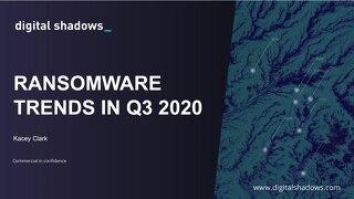 Ransomware Trends in Q3 - Webinar Slides
