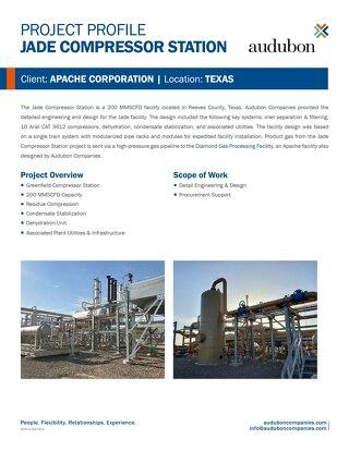 Apache Jade Compressor Station