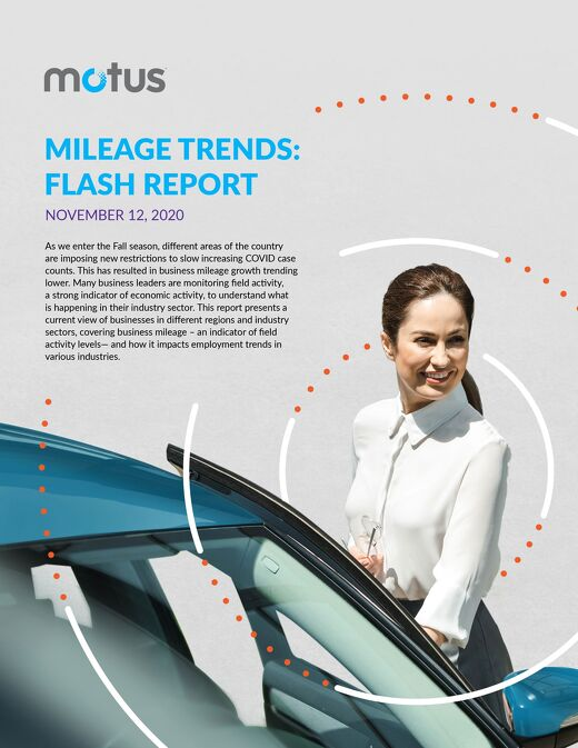 2020 Driving Activity Report - November 12