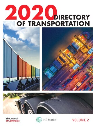 The Directory of Transportation Volume 2, 2020