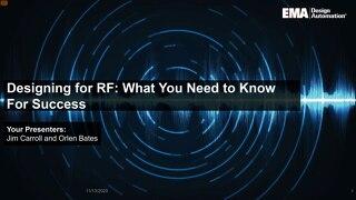 RF Design Webinar Slides