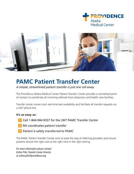PAMC_PatientTransferCenterflyer