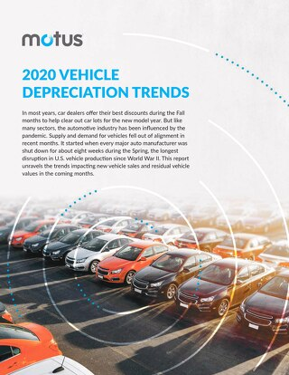 2020 Vehicle Depreciation Trends Report