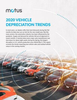 2020 Vehicle Depreciation Trends Report