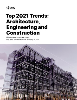 Top 2021 Trends: Architecture, Engineering and Construction