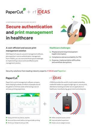 Papercut Healthcare Solutions rfIDEAS