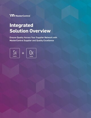 Integrated Solution Overview: Sx + Qx