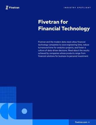 Fivetran for Financial Technology