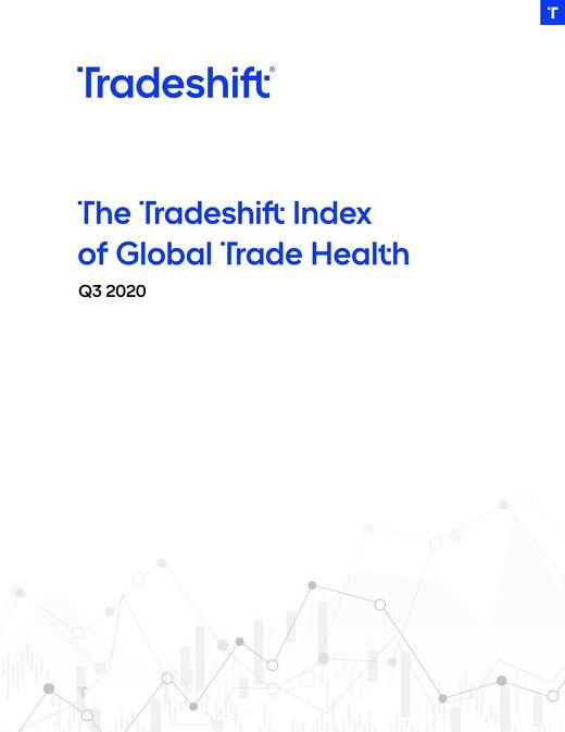 Tradeshift's Index of Global Trade Health Report Q3 2020