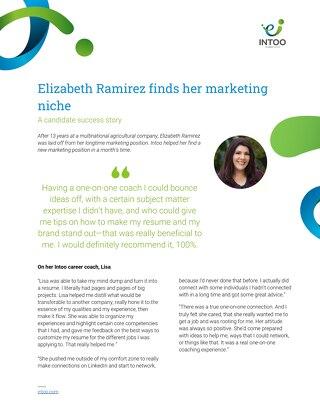 Intoo Candidate Success Story - Elizabeth Ramirez