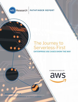 The Journey to Serverless-First: Enterprise use case show the way