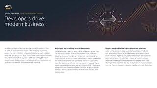 Modern Applications: Evolve your development processes