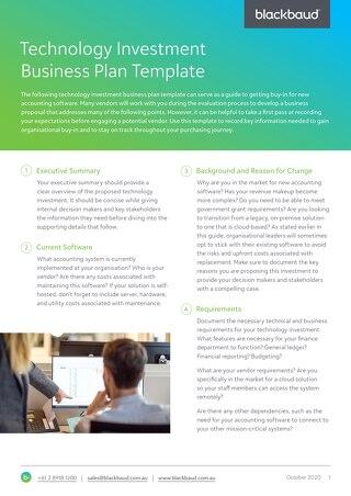SoftwareSelection-Business-Plan-Template