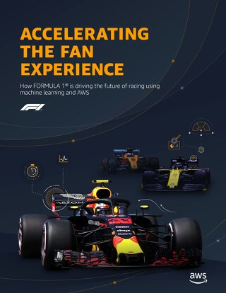How FORMULA 1® is driving the future of racing using machine learning and AWS