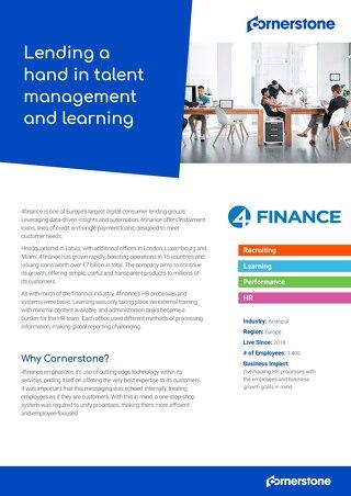 Case Study - 4finance