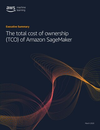The total cost of ownership (TCO) of Amazon SageMaker