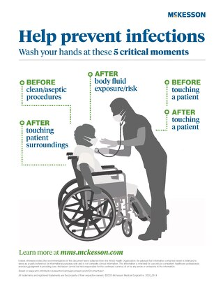 Help prevent infections: Wash your hands at these 5 critical moments