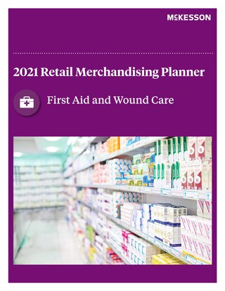 First aid & wound care planogram