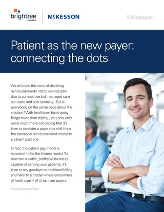 Patient as the payer: Brightree white paper