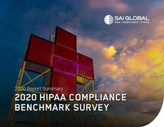 2020 HIPAA Compliance Benchmark Survey