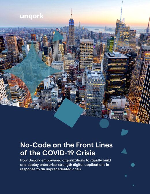 eBook: No-Code on the Front Lines of the COVID-19 Crisis