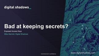 Exposed Access Keys - Webinar Slides