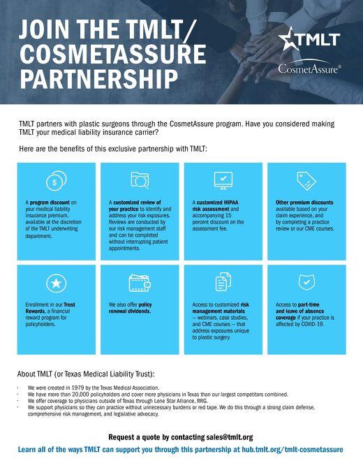 TMLT-Cosmetassure Partnership