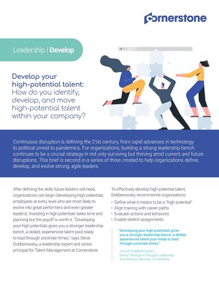 Develop Leadership Briefing Paper