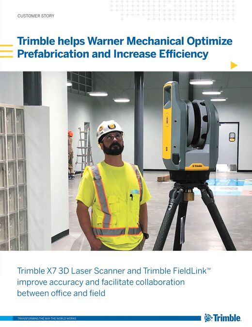 Warner Mechanical Case Study - 3D Laser Scanning