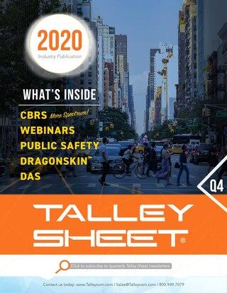 Q4 Talley Sheet 2020